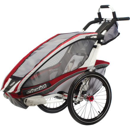 thule chariot cross stroller trailer pedal adventures. Black Bedroom Furniture Sets. Home Design Ideas