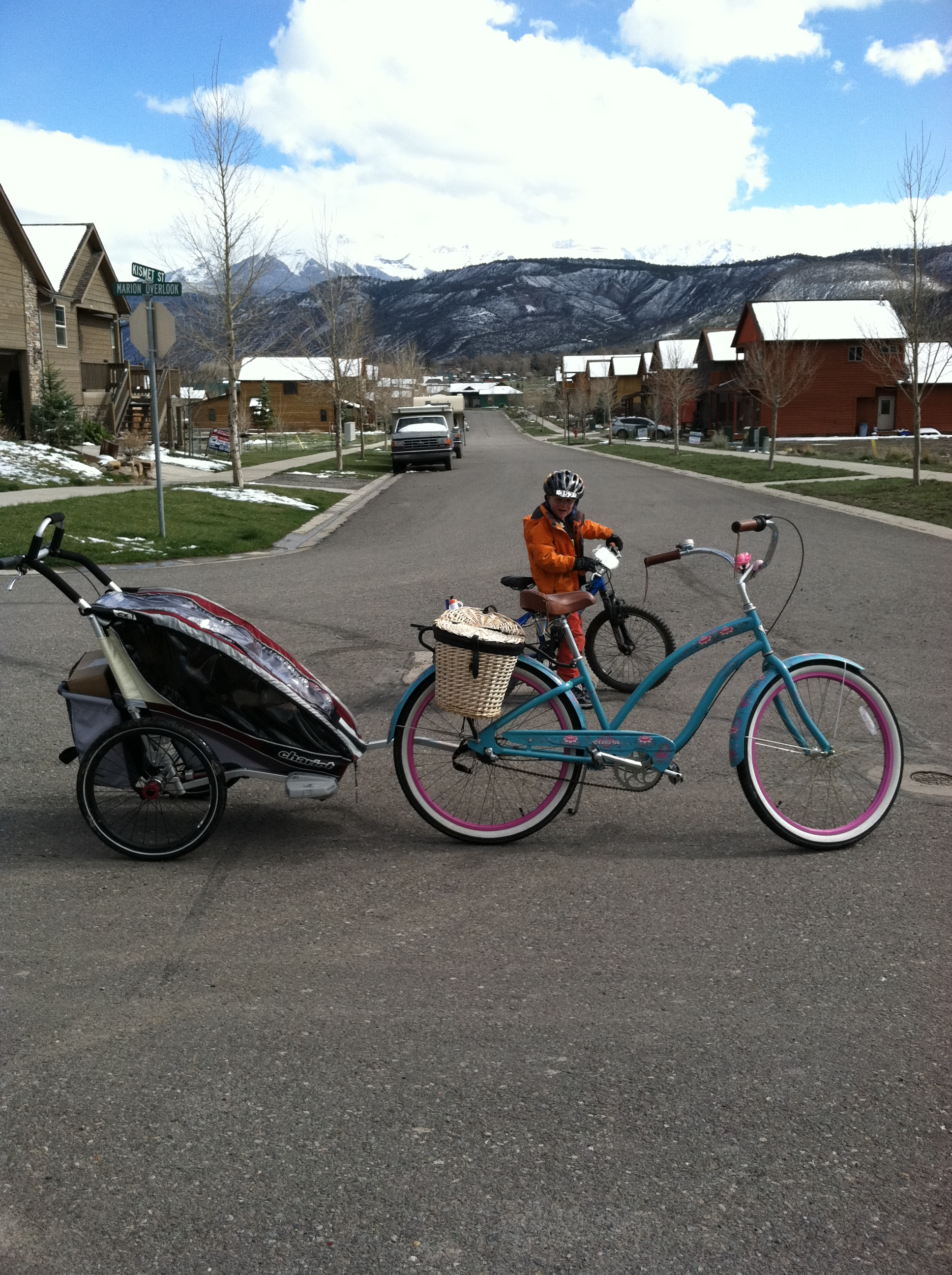 Cycling With Newborns And Infants