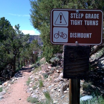 Dominate don't dismount on steep climbs