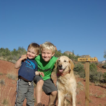 Hiking, biking and recovery in Sedona
