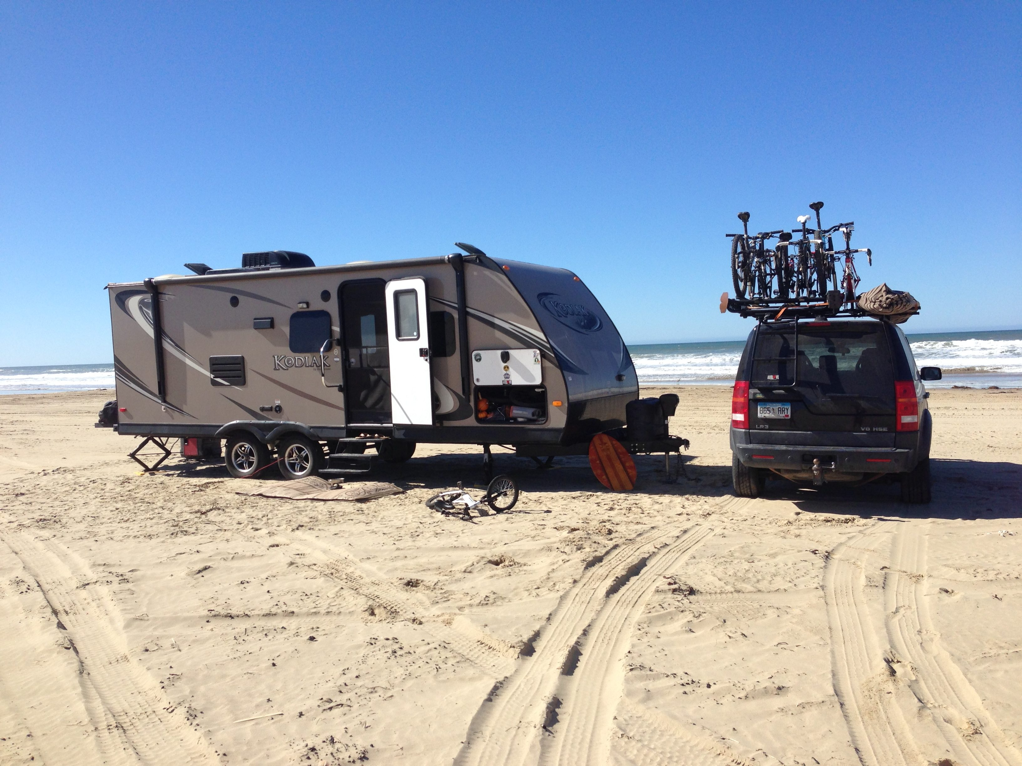 Boondocking at Pismo Beach, CA